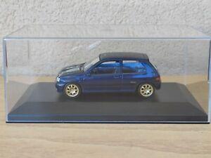 Renault Clio Williams Norev 1/43 Die Cast Modellino In Teca