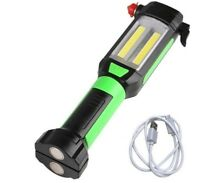 Magnetic Car Repairing Work Light COB LED Flashlight USB Charging Portable Lamp