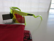 New Oakley Razor Blade  Fire iridium Sunglasses