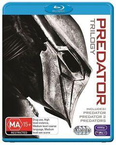 Predator - Predator 2 - Predators Blu-ray (Pal, 2011, 3 Disc Set) Free Post