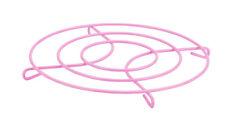 Pink Kitchen Wire Metal Trivet Pan Stand