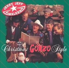 "Jerry Jeff Walker ""Christmas Gonzo Style"" (Ryko) SEALED - UNOPENED NEW CD -OOP"