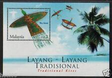 MALAYSIA 2005 Traditional Kites MS Mint MNH