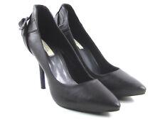 "SIMPLY VERA Vera Wang Lexi Women's Brown Studded Spike Heels 4""  Size 7.5"