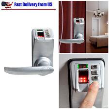 Fingerprint Door Lock Biometric Keyless Keypad Password L/R Handle Adel DIY-788