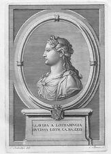 CLAUDIA FRANCESCA LORENA Claude Françoise Lorraine - Acquaforte Originale 1700
