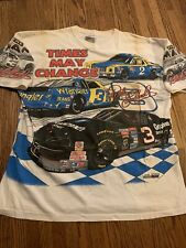 """Nascar Dale Earnhardt shirt """"Times May Change"""" XL Brand New Never Been Worn RARE"""