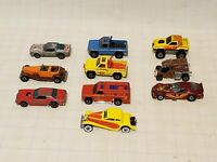 Vintage HOT WHEELS - lot of (10)