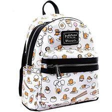 Loungefly Sanrio Hello Kitty Gudetama Lazy Egg Mini Book Bag Backpack GTBK0010