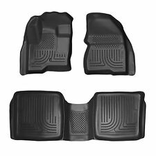 Husky Liners WeatherBeater Floor Mats - 3pc- 98741- Ford Flex/Lincoln MKT- Black