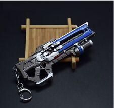 Overwatch Soldier 76 Weapon CS COD Gun Sniper Keyring Keychain Bag Pendant Gift