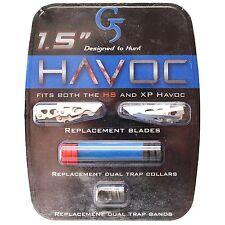 G5 Broadhead Havoc HS & XP Dual Trap Replacement Collar & Blade Kit 938 #00556