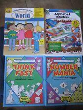 Four Activities Children Books ~ Homeschooling ~ Grade Pre-K to First Grade