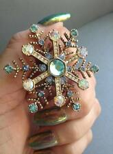 Betsey Johnson Snowflake Ring, Winter Wonderland, Holiday Statement Bling Greece