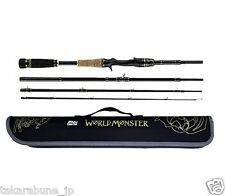 "Abu Garcia World Monster WMSC-734H casting rod 7'3"" Power-Heavy, Japan special"