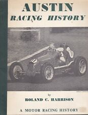 AUSTIN RACING HISTORY by Roland C. Harrison - POST FREE to UK