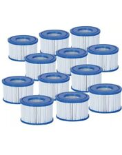 New listing 12 Pack Bestway Coleman Type Vi Spa Filter Cartridge for Lay-Z-Spa 58323