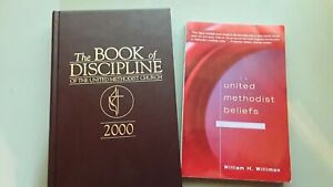 Lot of 2 United Methodist Beliefs A Brief Introduction & Book of Discipline 2000