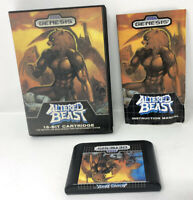 Altered Beast (Sega Genesis, 1989) Complete - Tested - Authentic