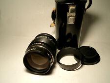 M42 Pentacon 1:2,8/135 15 blades TOP Condition LENS 135mm Meyer Optik Orestor