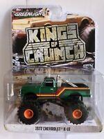 Greenlight Kings of Crunch 1972 Chevrolet K-10 Monster Truck 1/64 CHASE 49010F