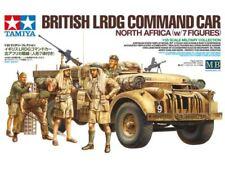 Tamiya británico LRDG comando coche con 7 figuras 1/35 Escala Kit #32407