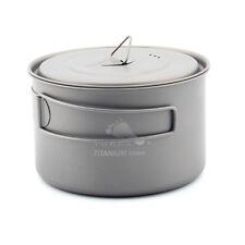 TOAKS CUP-700-D115-L Outdoor Titanium Wide-Mouth Pot