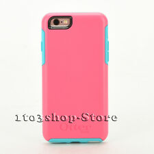 OtterBox SYMMETRY Hard Shell Cover Case for iPhone 6 iPhone 6s (TEAL ROSE PINK)