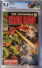 Iron Man # 4 CGC 9.2 Collectors CGC Universal Label, Unicorn, Silver Surfer