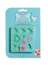 KitchenCraft einfache Presse Hearts / Liebe Fondant / Glasur Formen Kuchen/Kekse