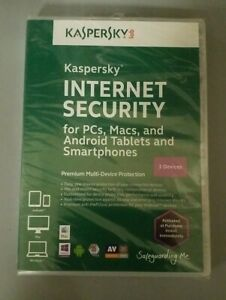 Kaspersky INTERNET Security 3 Devices DVD