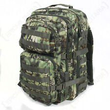 Mil-Tec US Assault Backpack Army MOLLE Tactical Rucksack Large 36l MANDRA Wood