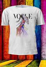 Disney Princess Mulan Vogue Cover T-shirt Vest Tank Top Men Women Unisex 520