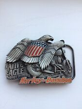 Harley Davidson Belt Buckle Official Licensed Product Made In USA