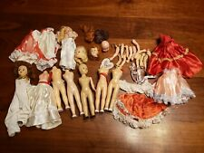 Dolls Parts Pieces Storybook Plastic Molded Arts Arms Heads Clothes Needs Help