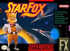 Star Fox For Super Nintendo SNES
