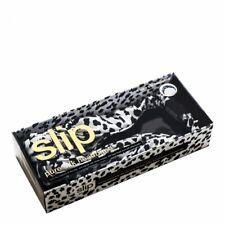 NEW SLIP SILK Womens Twist Leopard Knot Headband Black White One Size (MSRP $70)