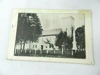 Vintage Postcard New York NY Stone Fort Museum Schoharie