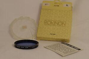 HOYA 55Ø 55mm Blue 80B Lens Filter Japan in Rokinon box 9216052