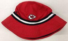 NWT NFL Kansas City Chiefs Reebok Bucket Cap Hat NEW SEE DESCRIPTION