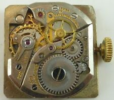 Jules Jurgensen Wristwatch Movement - Good Balance - Sold for Parts / Repair