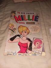 MILLIE THE MODEL ANNUAL #2 marvel comics 1963 silver age stan lee g gga atlas
