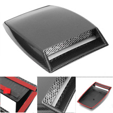 Car Decorative Air Flow Intake Hood Scoop Vent Bonnet Cover For Honda BMW