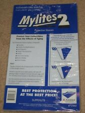 100 E Gerber Mylites 2 Mil Mylar Bronze Silver Standard Comic Book Bags sleeves