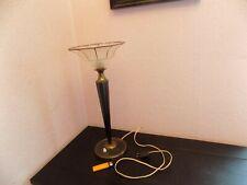 LAMPE DE TABLE ART NOUVEAU PIED FUSEAU