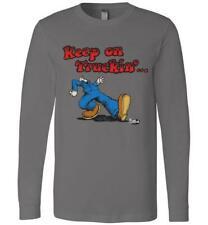 R. Robert Crumb Grateful Dead classic Keep On Truckin' Men's L/S T-shirt Size S