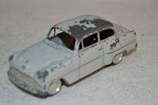 Lion Car Opel Record grey good plus original condition made in Holland 1e type