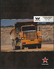"Western Star ""Stockpile & Off-Road Construction"" Truck Lorry Brochure Leaflet"