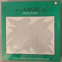 Vintage 1973, Unopened, An A Maze Ing Jigsaw Puzzle