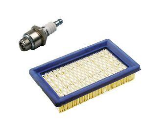 Luftfilter, Flachluftfilter + Zündkerze für Rasenmäher MTD ThorX, Honda GXV